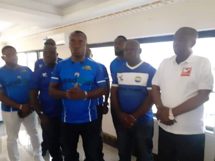 Bo Rangers management pay solidarity visit to the North-East region football association