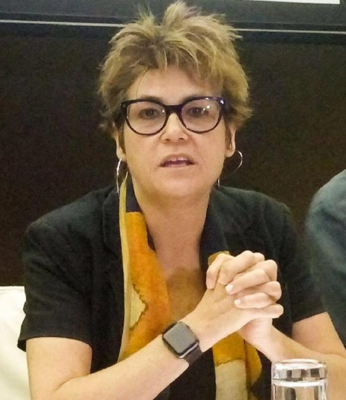 Dr. Gayle Martin, World Bank Country Manager in Sierra Leone