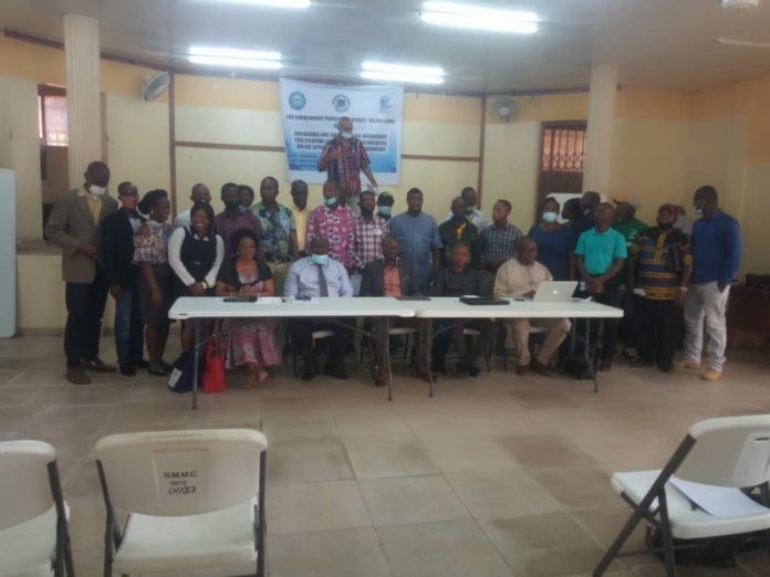 EPA-SL Engage Stakeholders on Oil Spill in Coastal Community